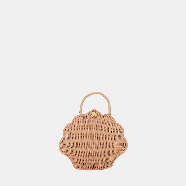 Olli Ella Shell Purse - Rose