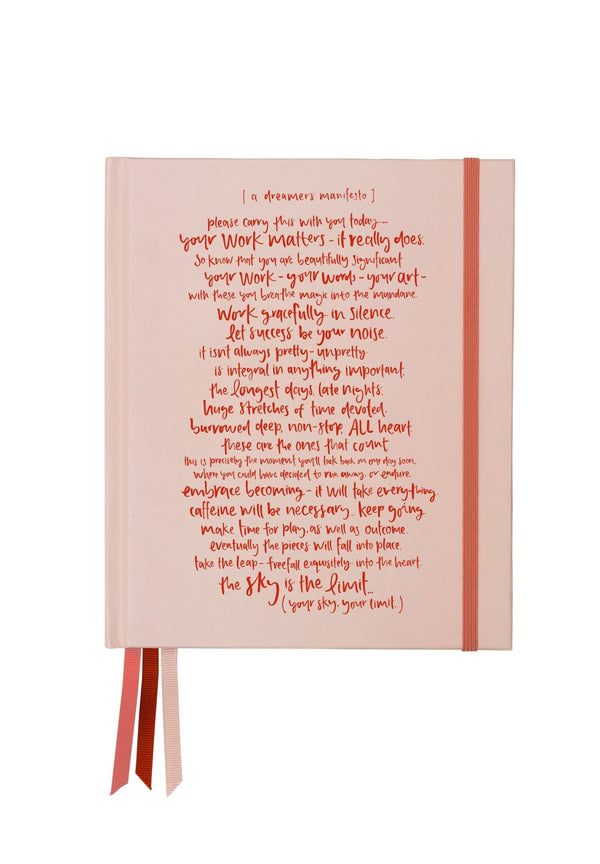 Emma Kate Co. Journal | Dreamer's Manifesto | Blush + Scarlet