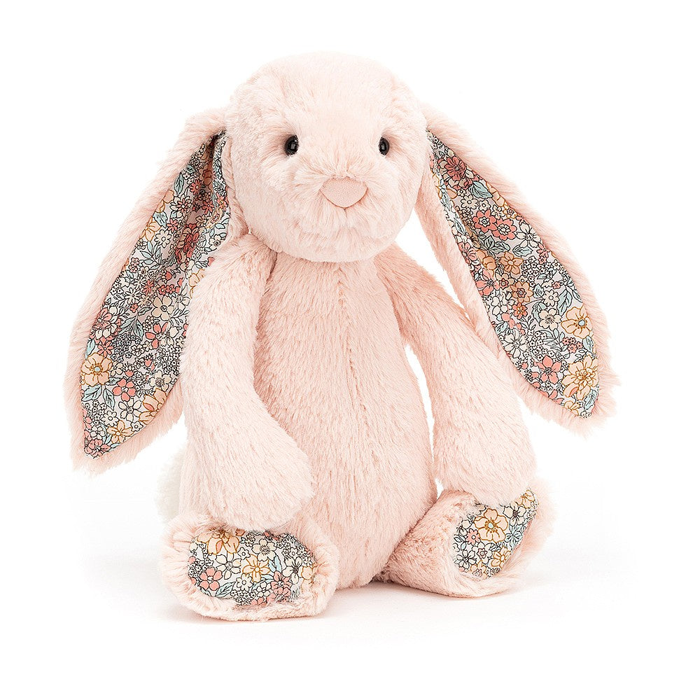 Jellycat Bashful Blossom Bunny Medium - Blush
