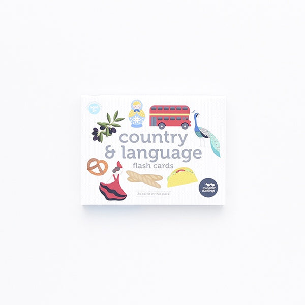 Flash Cards - Country and Language