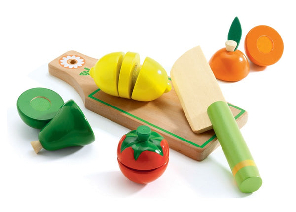 Wooden Fruit and Veggies