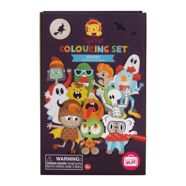 Colouring Set - Spooky