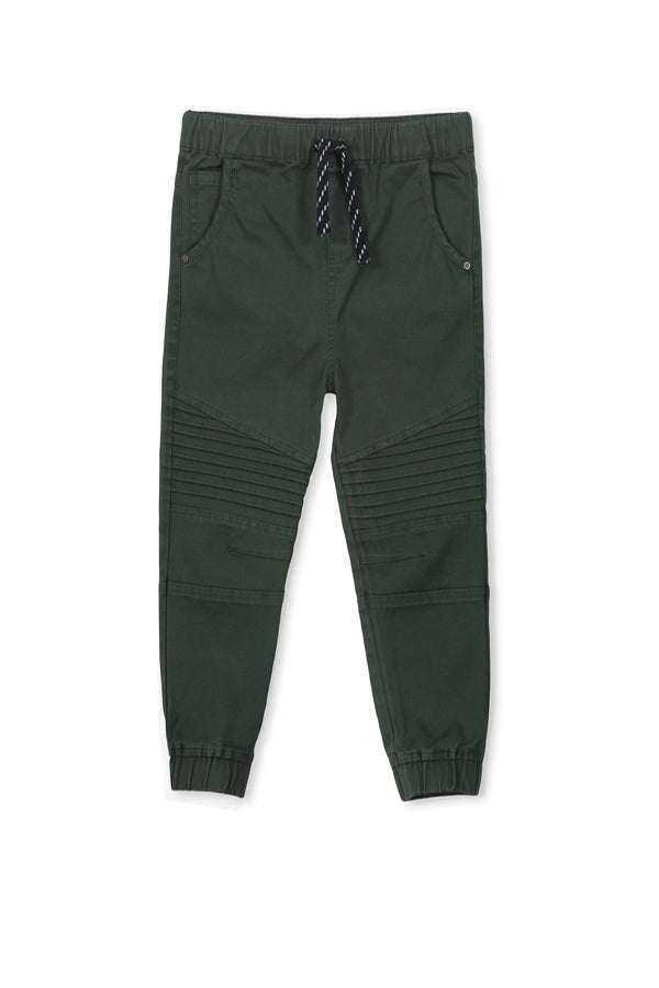 Milky- Hunter Green Chino / Boys