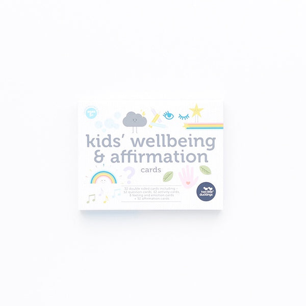 Flash Cards - Kids' Wellbeing and Affirmation