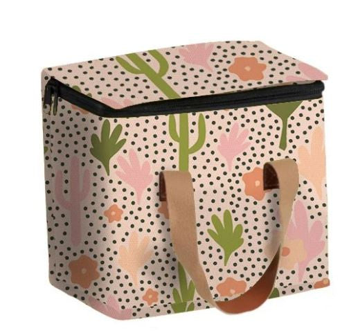 Medium Lunch Bag - Blooming Cacti