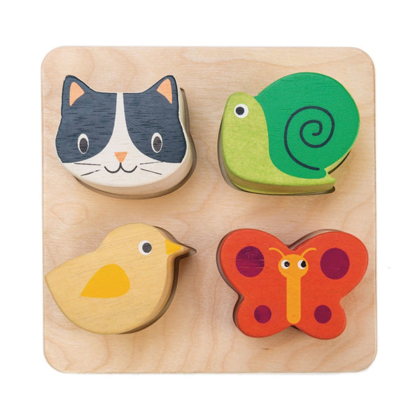 Touch Animal Block Sensory Tray