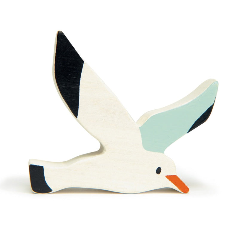 Wooden Coastal Animal - Seagull