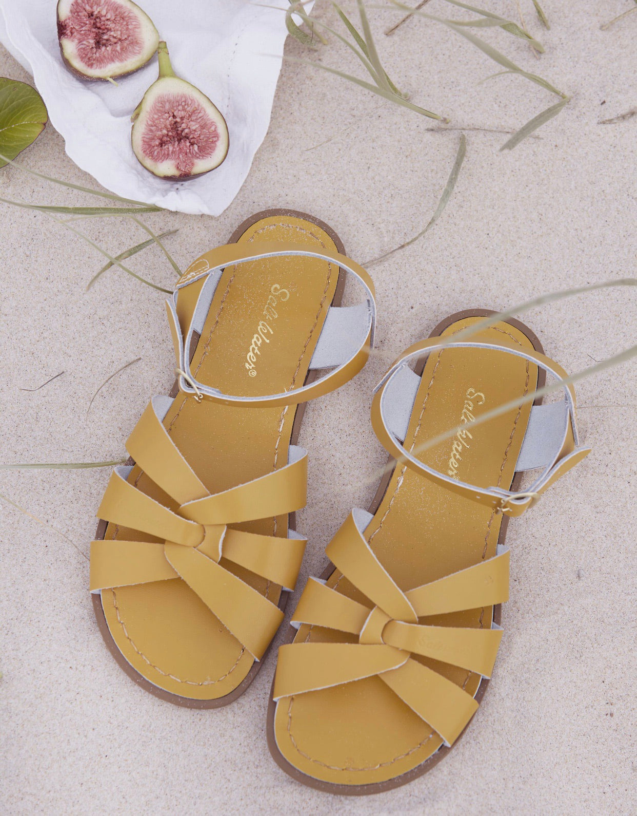 95743cdda6fc Saltwater Sandals Mama Sizes Original - Mustard – Daisy and Hen