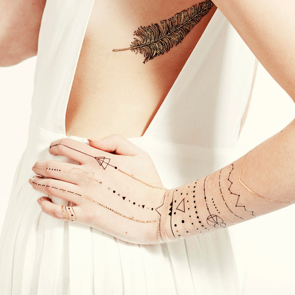 Golden Age Temporary tattoo PAPERSELF