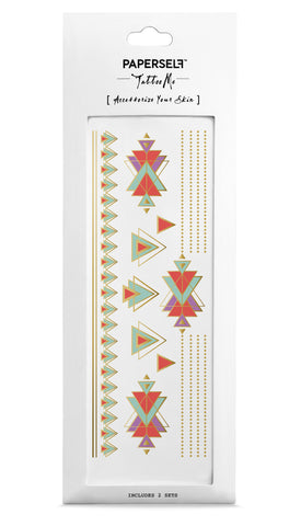 Deco Deco Metallic Temporary Tattoo PAPERSELF