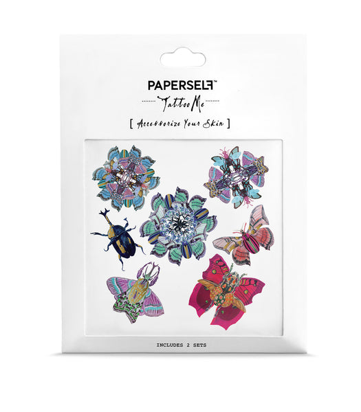 Blooming Lapidotera Temporary Tattoo by PAPERSELF