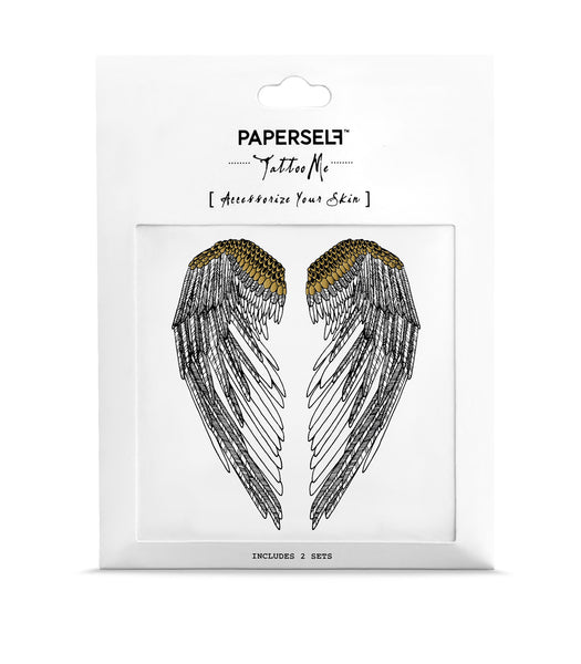 wings Temporary tattoos PAPERSELF