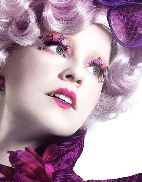 Effie Trinket Hunger Games paper lashes by paperself