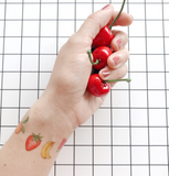 Fruits Temporary Tattoo