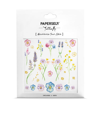 Little Garden Temporary tattoo PAPERSELF