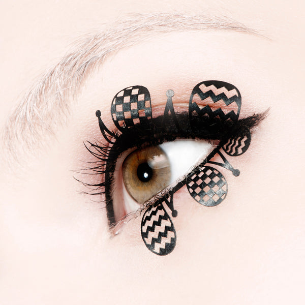 clown paper lash false lashes by paperself
