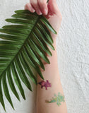 dinosaur temporary tattoo