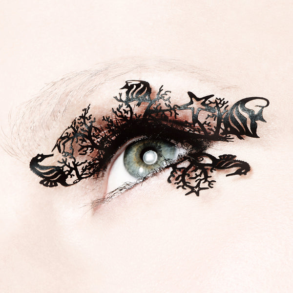 under the sea paper lashes paperself