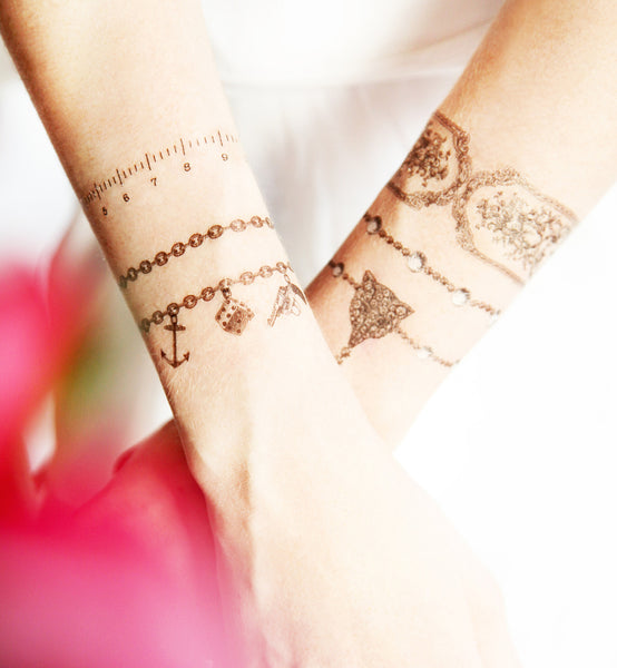 Measure of Love Temporary tattoos PAPERSELF