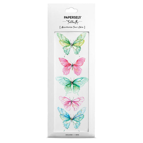 Butterfly temporary tattoo PAPERSELF