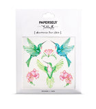 Hummingbird Temporary Tattoo by PAPERSELF