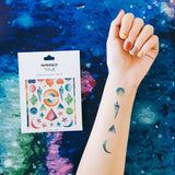 galaxy temporary tattoo
