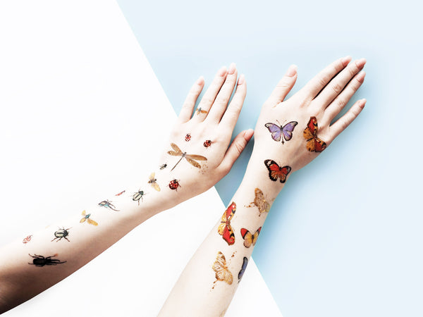 Butterflies Temporary Tattoos by PAPERSELF