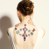 viola butterfly Temporary tattoos PAPERSELF