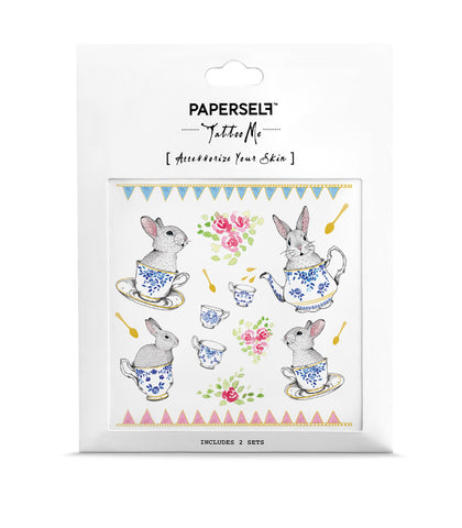 rabbit Temporary tattoos PAPERSELF