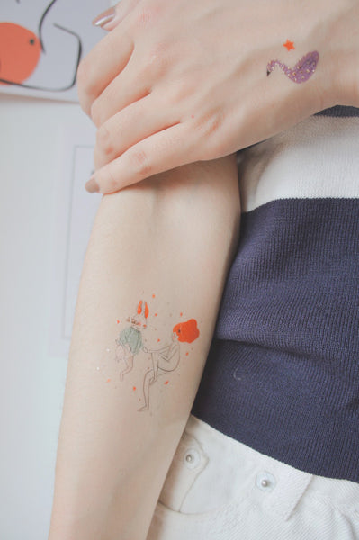 Eden Temporary Tattoo