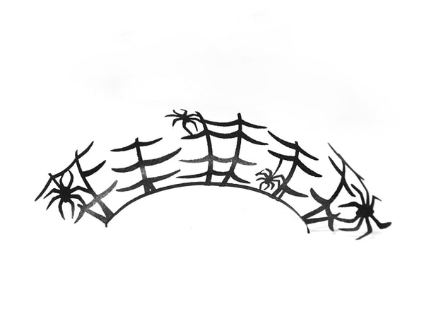 Spider Halloween Paper Lashes PAPERSELF