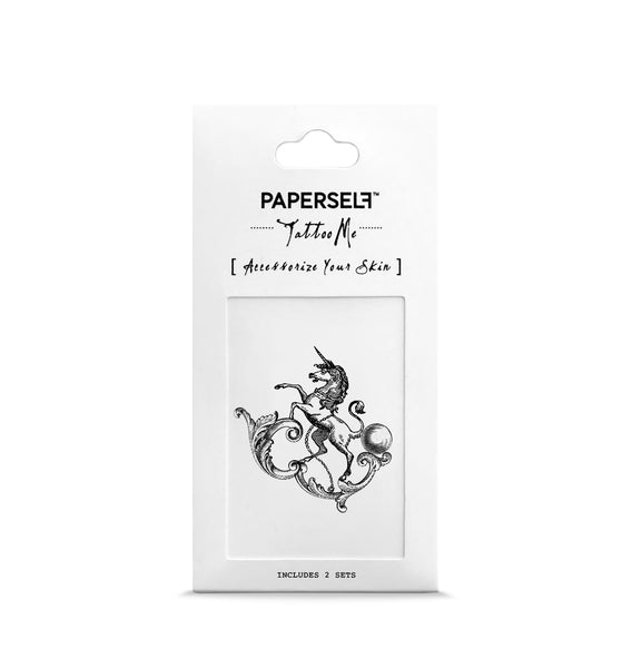 unicorn Temporary tattoos PAPERSELF