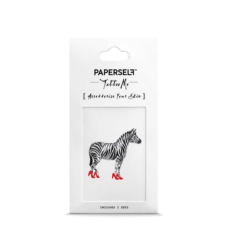 zebra Temporary tattoos PAPERSELF