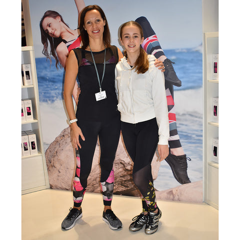Maizie with Samantha at Move It 2019