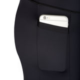 pocket for phone on BIA Leggings Black