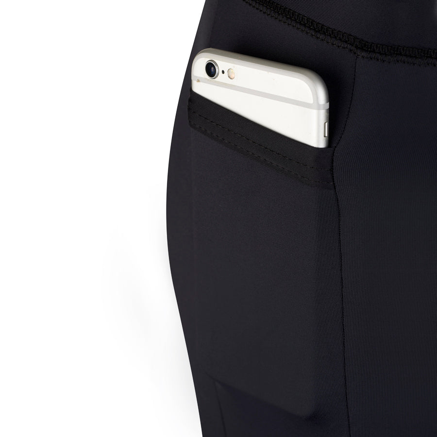 pocket for phone on BIA Leggings Check Print