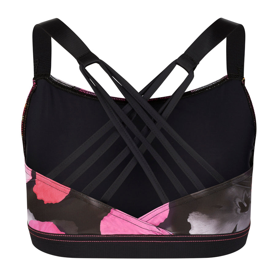 MAIA Dance Fitness Bra YD - Cloud Floral print