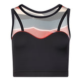 THALIA Dance Top - Geo print