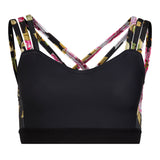 Dance Fitness Bra Black/Floral