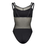 906 Layered Mesh Leotard