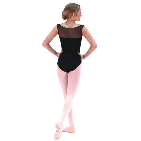 1514 Boatneck Leotard Black
