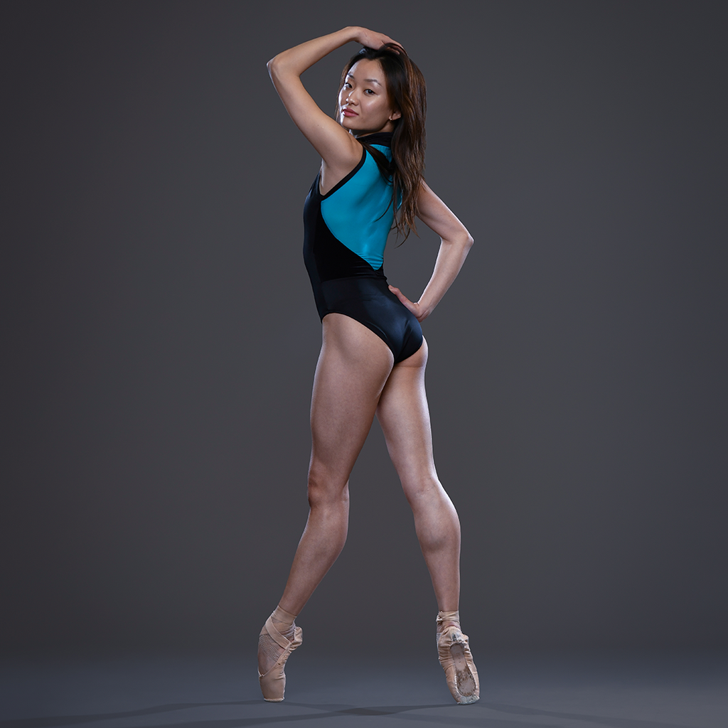 Between the Waves Zip Front Leotard