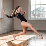 Elegant Lace Leotard 1214