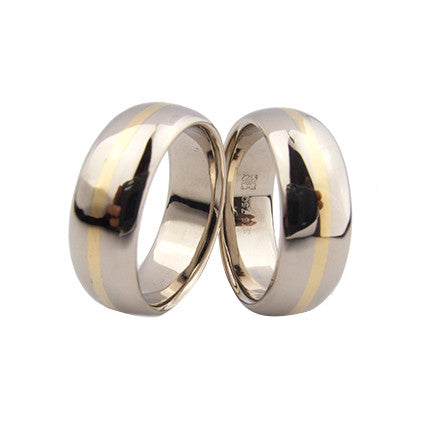 Grinder Rings with 18ct detail
