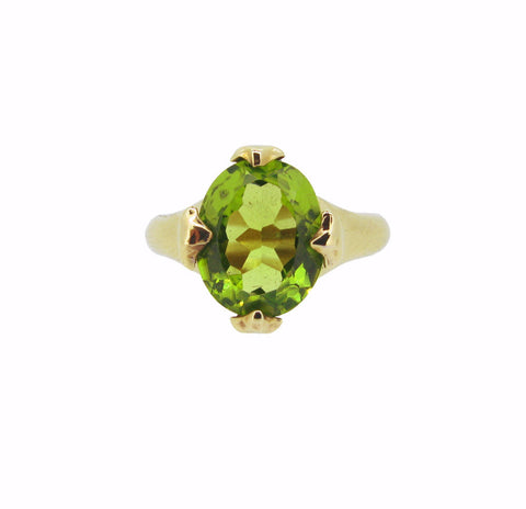 Majesty Ring with Peridot