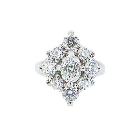 Rita Ring/white gold, diamonds