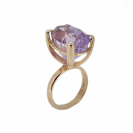 The Rock Ring/amethyst