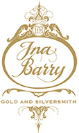 Ina Barry Gold and Silver Smith logo