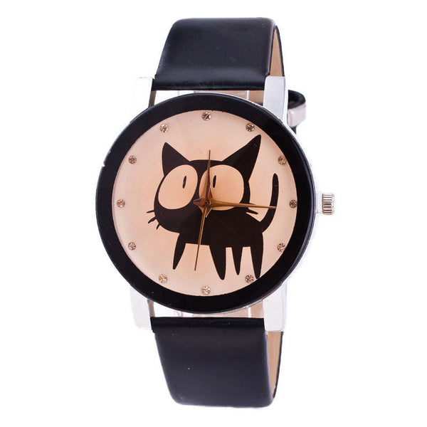 Cat Analog Quartz Wrist Watch