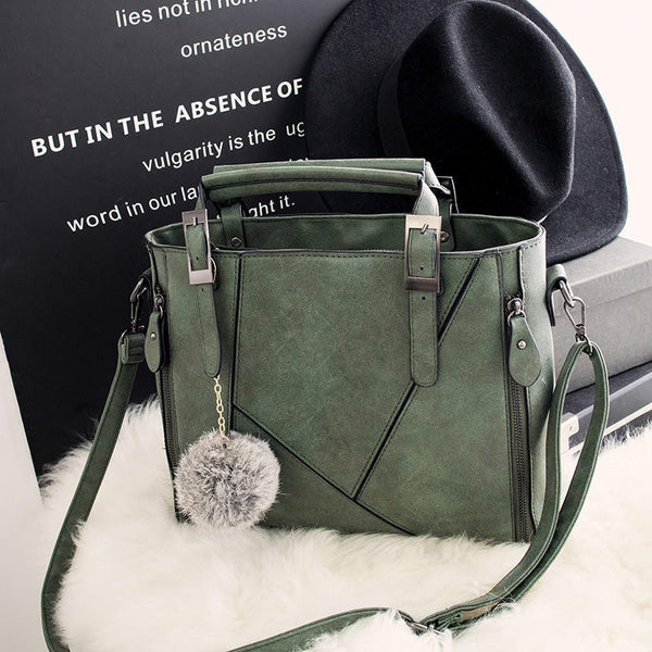 Leather Chic Chic Crossbody Handbag Shoulder Bag